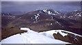 NH1128 : Summit ridge, Beinn Fhionnlaidh by Richard Webb