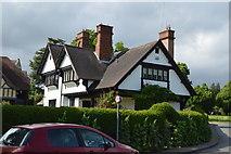 TQ5446 : Leigh Village by N Chadwick
