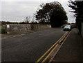 SO9669 : St Godwald's Road railway bridge, Bromsgrove by Jaggery