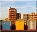 TQ2704 : Beach Huts 277-279, Western Esplanade, Hove : Week 49
