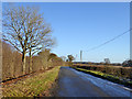 SP6430 : Lane towards Tingewick by Robin Webster
