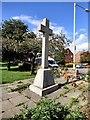 SJ9091 : Portwood War Memorial by Gerald England