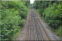 TQ5346 : Redhill to Tonbridge Line by N Chadwick