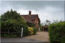 TQ5346 : Cinder Hill Farmhouse by N Chadwick