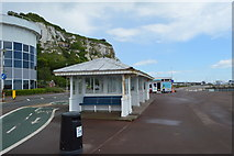 TR3241 : Seafront shelter by N Chadwick
