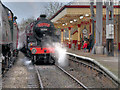 "SD7916 : Santa Special - ""The Crab"" at Ramsbottom Station by David Dixon"
