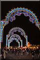 TQ2880 : Archway at Winter Wonderland, Hyde Park, London : Week 50