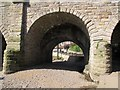 SE4048 : Dry arch of Wetherby Bridge by Stephen Craven