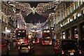 TQ2980 : Regent Street Christmas Lights 2016 : Week 51