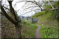 SP3576 : The way north out of Whitley Grove, southeast Coventry by Robin Stott