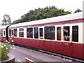 SX8061 : South Devon Railway - carriage with guard by Stephen Craven