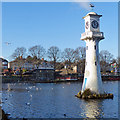 ST1879 : The southern end of Roath Park Lake, Cardiff : Week 1
