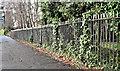 J3775 : Park fence, Holywood Road, Belfast (January 2017) by Albert Bridge