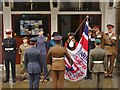 SU9949 : Guildford - Armed Forces Flag at Guildhall by Colin Smith