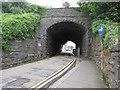 SN1200 : West side of Park Road Railway Bridge, Tenby by Jaggery