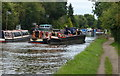 TL0206 : Narrowboats on the Grand Union Canal at Bourne end by Mat Fascione