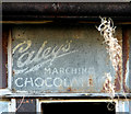 TG2809 : Old sign advertising Caley's Marching Chocolate by Evelyn Simak