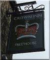 SE0749 : Sign for the Crown Inn, Addingham by JThomas