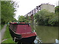 TQ0493 : Derelict lime works by the Grand Union Canal by Mat Fascione