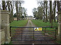 TL4265 : Entrance to Westwick Hall by JThomas