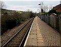 SS8689 : Garth railway station by Jaggery