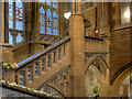 SD8913 : Rochdale Town Hall, Grand Staircase by David Dixon