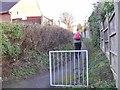 SO8793 : Bull Lane Path by Gordon Griffiths