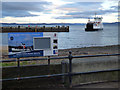 NS2059 : Ferry approaching Largs Pier by Thomas Nugent