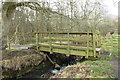 NS3430 : Footbridge on Smugglers' Trail by Billy McCrorie