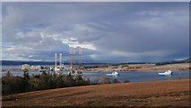 NH7966 : Outlook from Cromarty Mains by Julian Paren