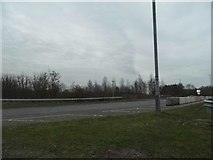 TL0446 : The A421/A6 roundabout, Elstow by David Howard