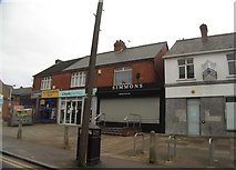 TL1023 : Shops on Hitchin Road, Stopsley by David Howard