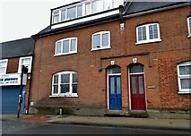 TQ1795 : Houses on Elstree High Street by David Howard