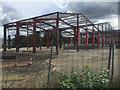 SP0889 : Steel frame near Long Acre, Aston, Birmingham by Robin Stott