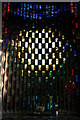 SP3379 : Modern Stained Glass by Malcolm Neal