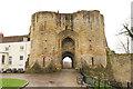 TQ5846 : Tonbridge Castle gatehouse by Richard Croft