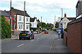 SP3781 : Southeast on Woodway Lane, Walsgrave, northeast Coventry by Robin Stott