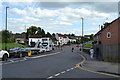 SP3780 : Woodway Lane meets Hinckley Road, Walsgrave, northeast Coventry by Robin Stott
