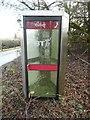 SP9406 : KX300 Telephone Kiosk at Hawridge by David Hillas