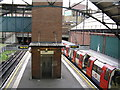 TQ1991 : Edgware LT station: looking north by Dr Neil Clifton