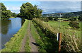 SE0145 : Towpath along the Leeds and Liverpool Canal by Mat Fascione