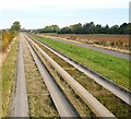 TL4165 : Guided busway by N Chadwick