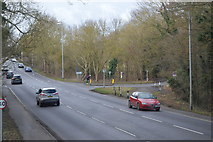 TL4159 : Cambridge Rd off Madingley Rd by N Chadwick