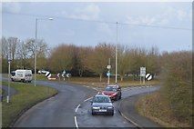 TL3959 : Roundabout, A1303 by N Chadwick