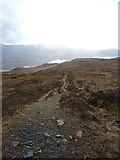 NG9573 : Downhill towards Loch Maree by Richard Law