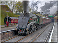 SD8010 : 60009 Union of South Africa Leaving Bury by David Dixon