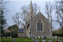 TL3758 : Church of St Mary by N Chadwick
