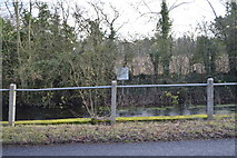 TL3758 : Roadside pond, Main St by N Chadwick