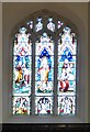 SD5805 : Stained Glass in All Saints by Gerald England