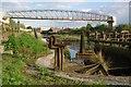 TQ5474 : Old Sea Lock on the River Darent : Week 17